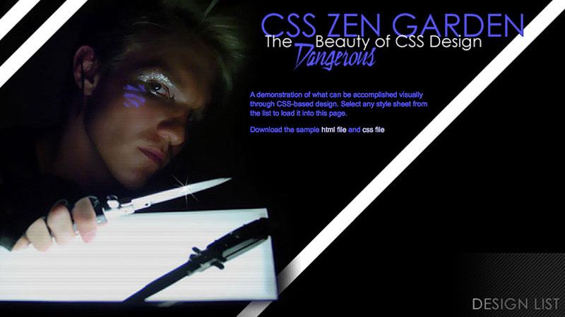 Dangerboy CSS Zen Garden